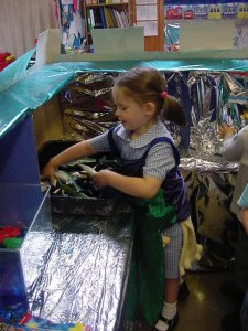 Rebecca at Infant School
