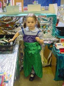 Rebecca at Infant School
