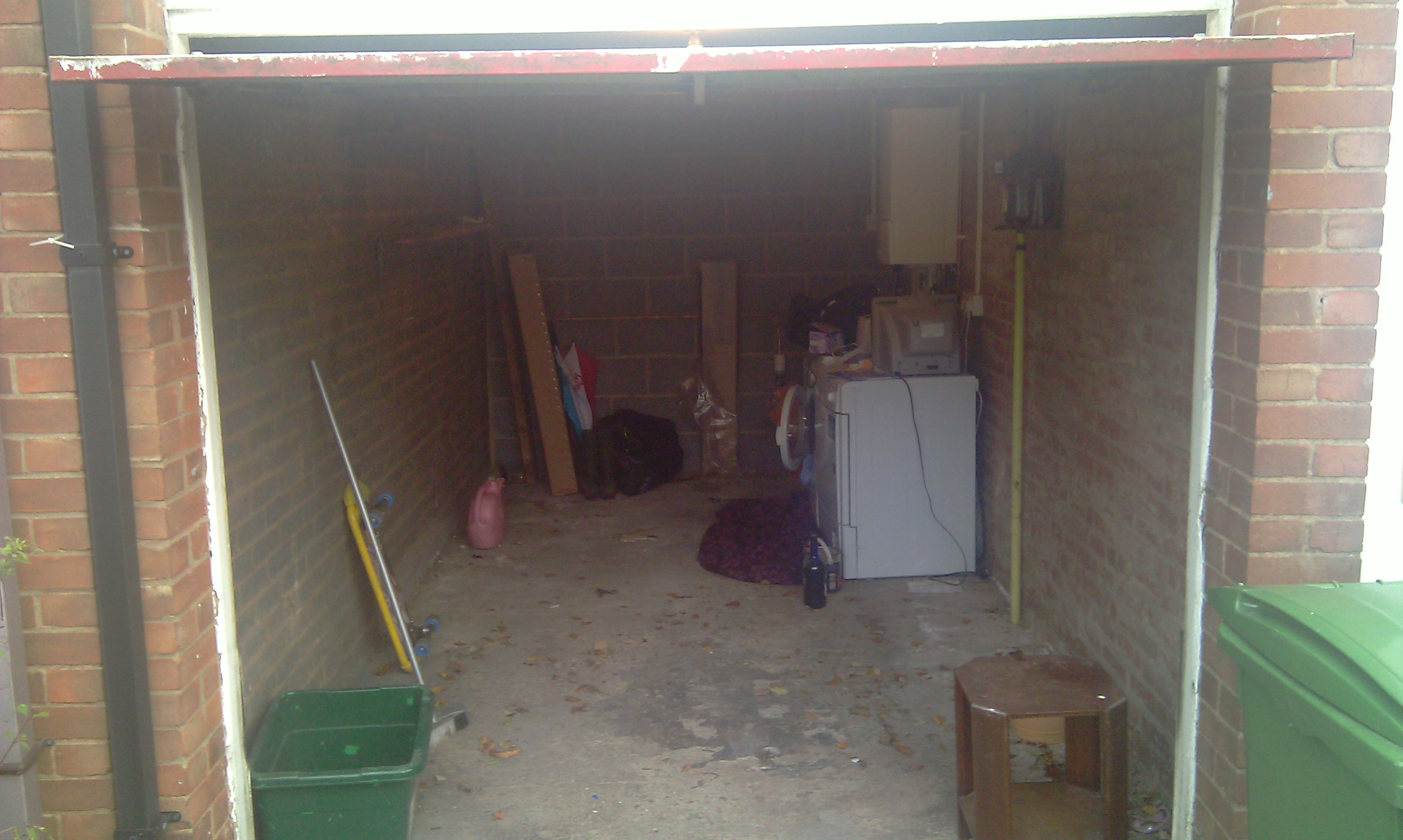 Garage conversion mkingdon 39 s blog for Single garage cost