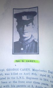 Cpl George Carey