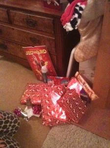 Rebecca's presents