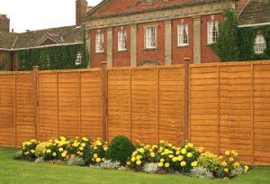 Waney Lap Fence