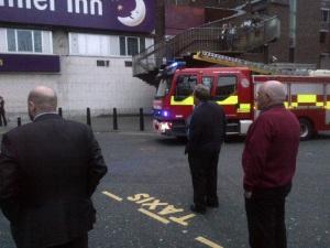 newcastle fire engine