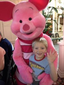 George and Piglet