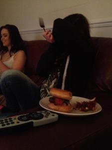 Don't interrupt my burger