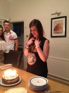 Emily and 18 candles