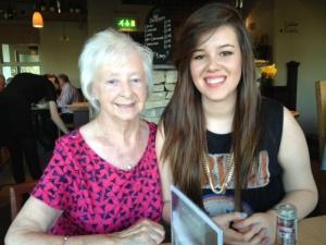 Emily and her Grandma